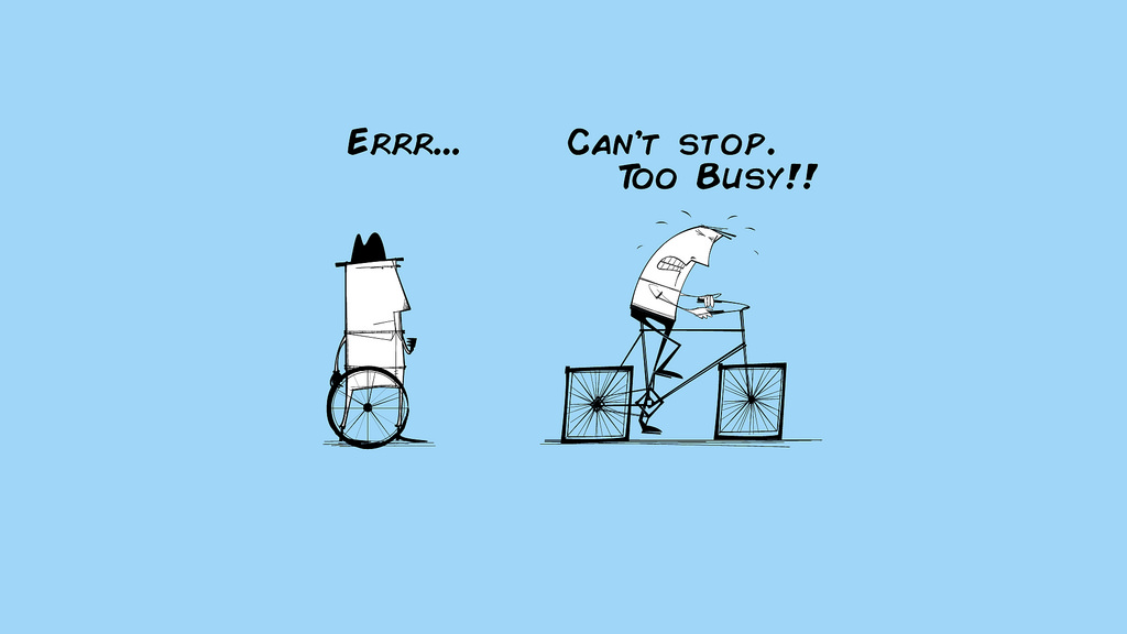 Busy or Effective? There must always be time for improvements