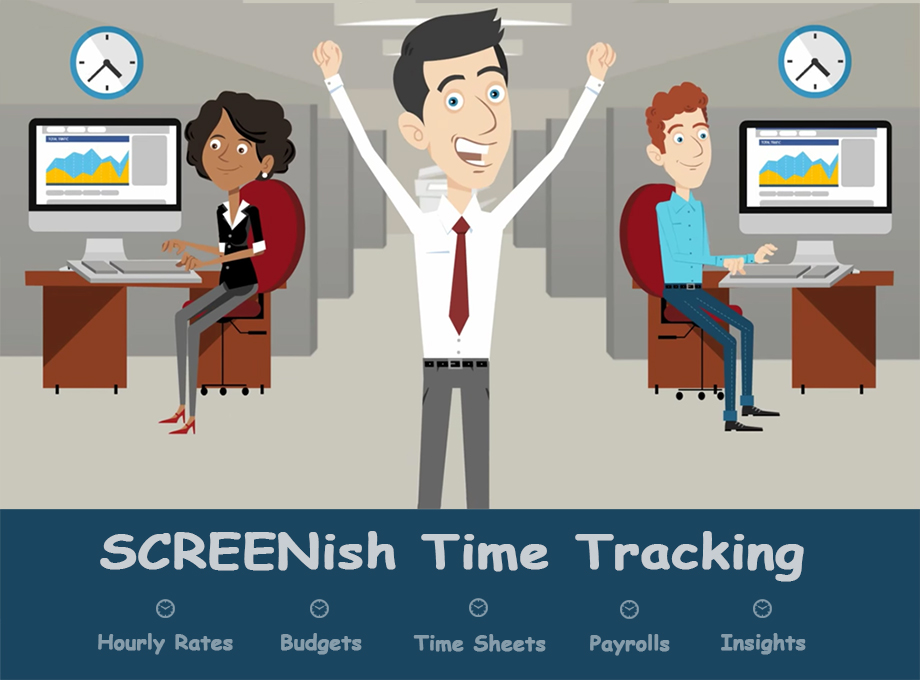 Great News! SCREENish Time Tracking Now With New Features!